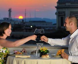 3 notti con cena sui tetti di Roma